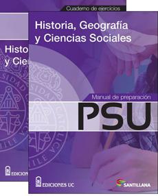 MANUAL PREP PSU HISTORIA Y CUADERNO EJERCICIOS