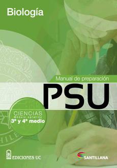 MANUAL DE PREPARACION PSU BIOLOGIA 3 Y 4 MEDIO