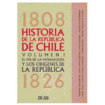 HISTORIA DE LA REPUBLICA DE CHILE 1808 VOL. 1