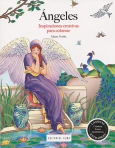 ANGELES INSPIRACIONES CREATIVAS PARA COLOREAR