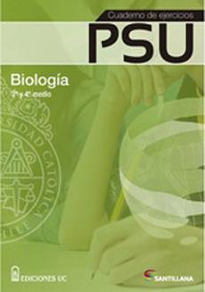 CUADERNO DE EJERCICIOS PSU BIOLOGIA 3 Y 4 MEDIO