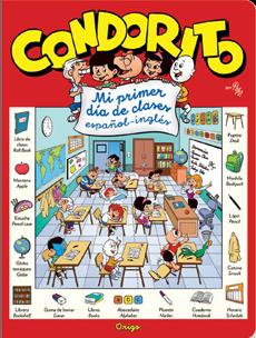 CONDORITO MI PRIMER DIA DE CLASES ESPAÑOL INGLES