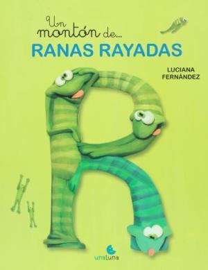 UN MONTON DE RANAS RAYADAS