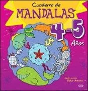 CUADERNO DE MANDALA 4-5 AÑOS