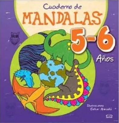 CUADERNOS DE MANDALAS 5-6 AÑOS
