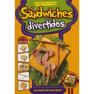 SANDWICHES DIVERTIDOS SERIE DIVERSION EN LA COCINA