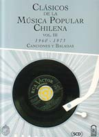 CLÁSICOS DE LA MUSICA POPULAR CHILENA TOMO III
