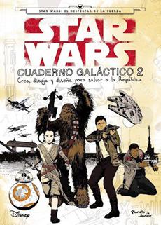 STAR WARS CUADERNO GALACTICO 2