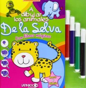A DIBUJAR ANIMALES DE LA SELVA