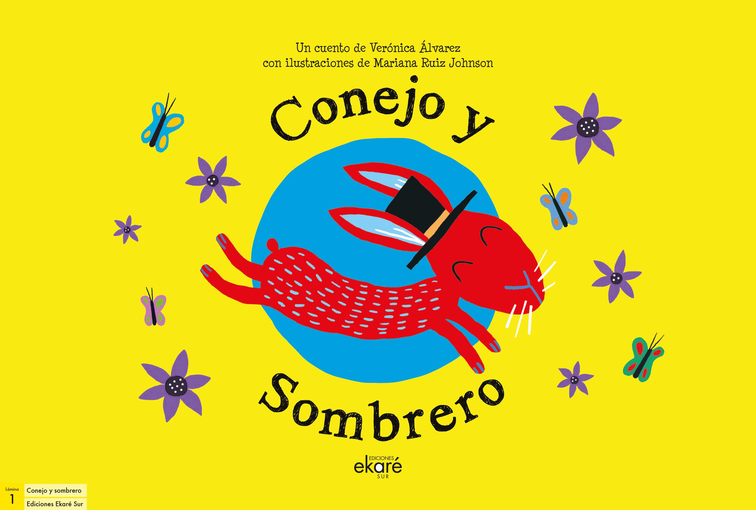 LAMINAS CONEJO Y SOMBRERO
