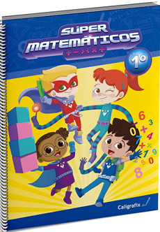 SUPER MATEMATICOS 1 CALIGRAFIX