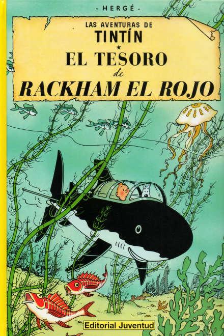 LAS AVENTURAS DE TINTIN 12 EL TESORO DE RACKHAM EL ROJO