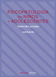 PSICOPATOLOGIA EN NIÑOS Y ADOLESCENTES