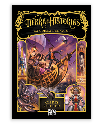LA TIERRA DE LAS HISTORIAS 5 LA ODISEA DEL AUTOR