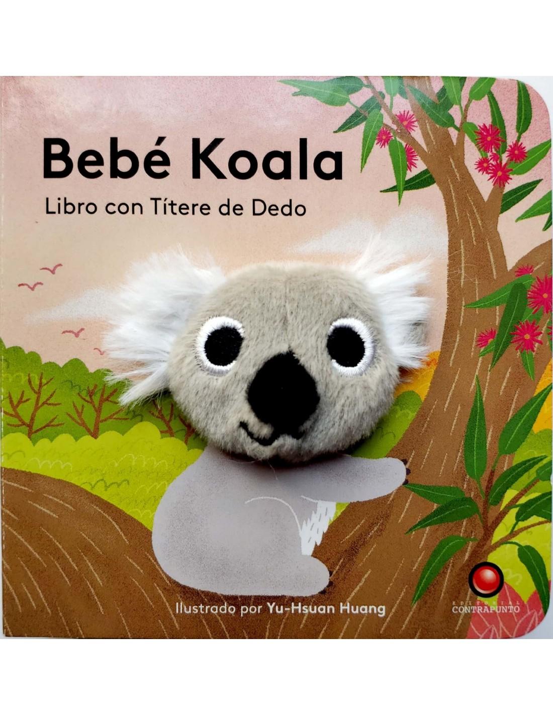 BEBE KOALA LIBRO CON TITERE DE DEDO