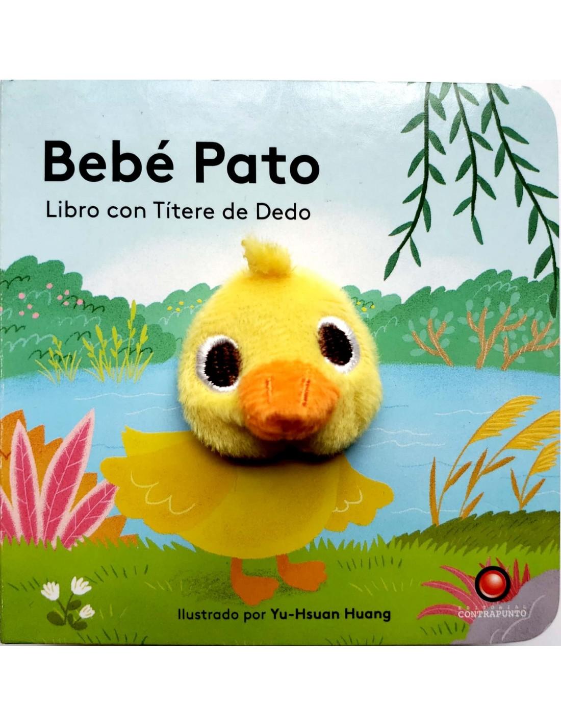 BEBE PATO LIBRO CON TITERE DE DEDO