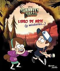 GRAVITY FALLS LIBRO DE ARTE Y MISTERIOS