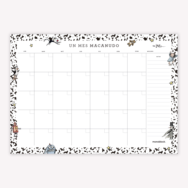 PLANNER MENSUAL COMPOSITION