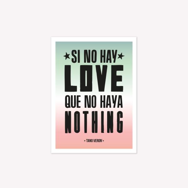 VIÑETA IMANTADA LOVE
