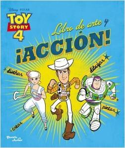 TOY STORY 4 LIBRO DE ARTE Y ACCION