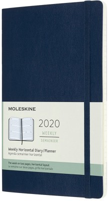 AGENDA 2020 AZUL WEEKLY HORIZONTAL LARGE