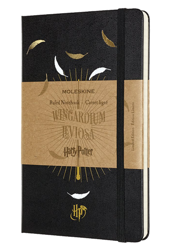LIBRETA HARRY POTTER NEGRA RULED NOTEBOOK LARGE