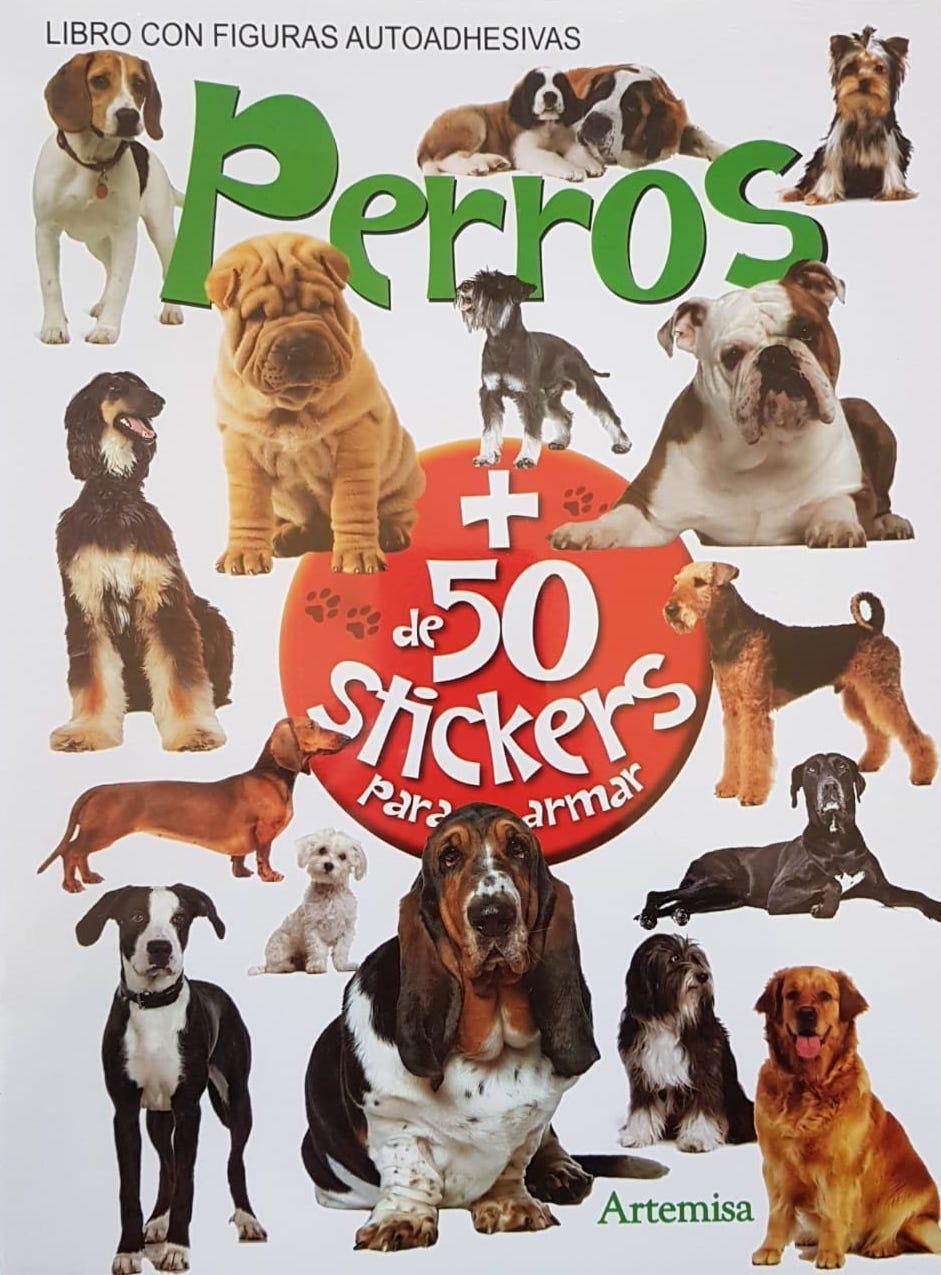 PERROS + DE 50 STICKERS PARA ARMAR