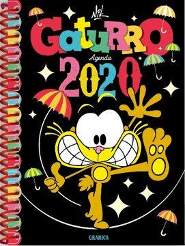 AGENDA 2020 GATURRO NEGRA ANILLADA