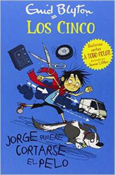 LOS CINCO JORGE QUIERE CORTARSE EL PELO