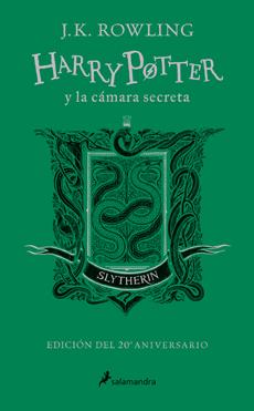 HARRY POTTER Y LA CAMARA SECRETA SLYTHERIN 20 AÑOS