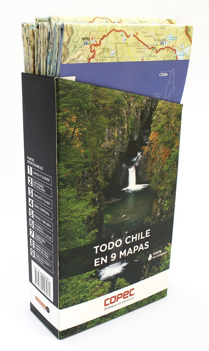 MAPA PACK 2019 CHILETUR COPEC