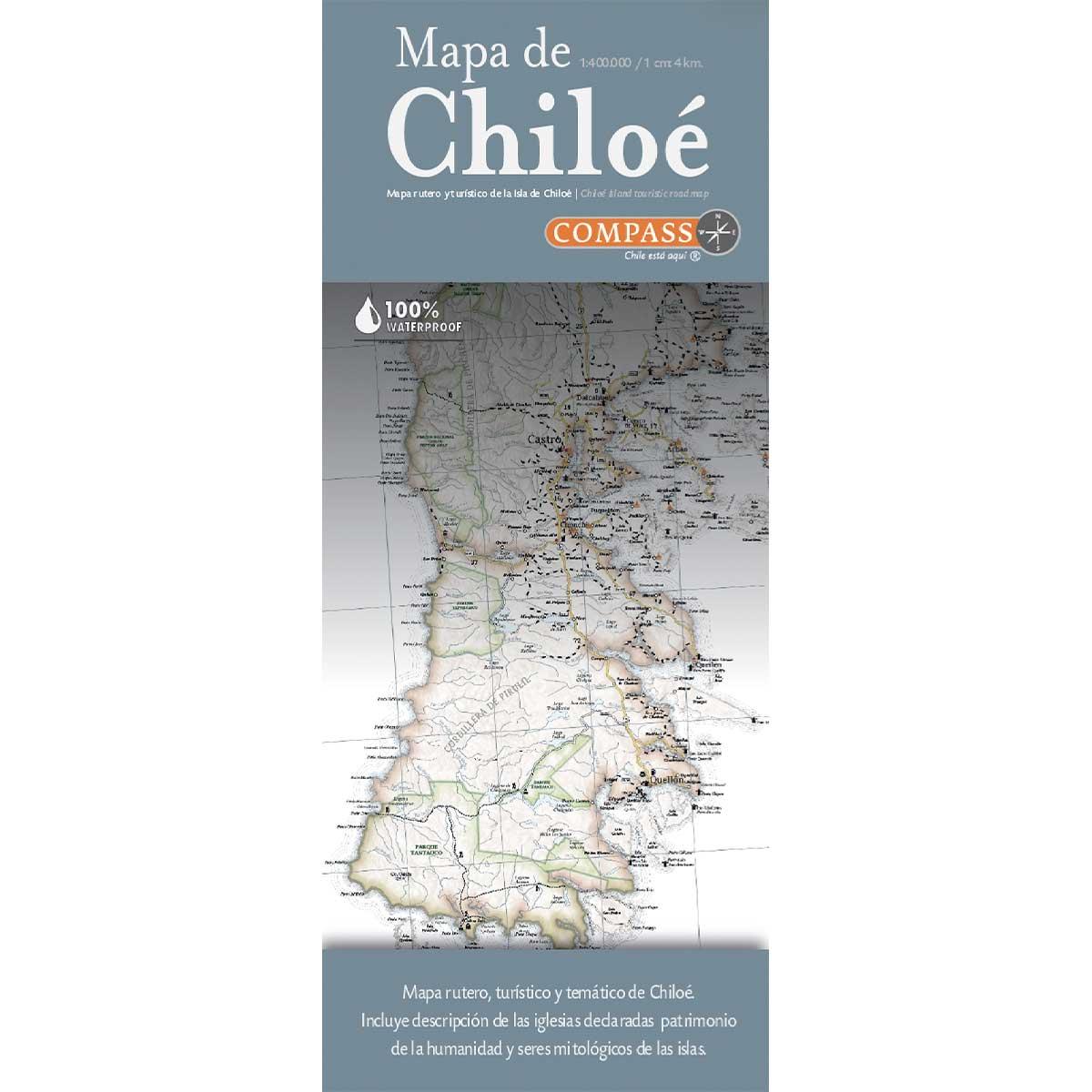 MAPA DE CHILOE