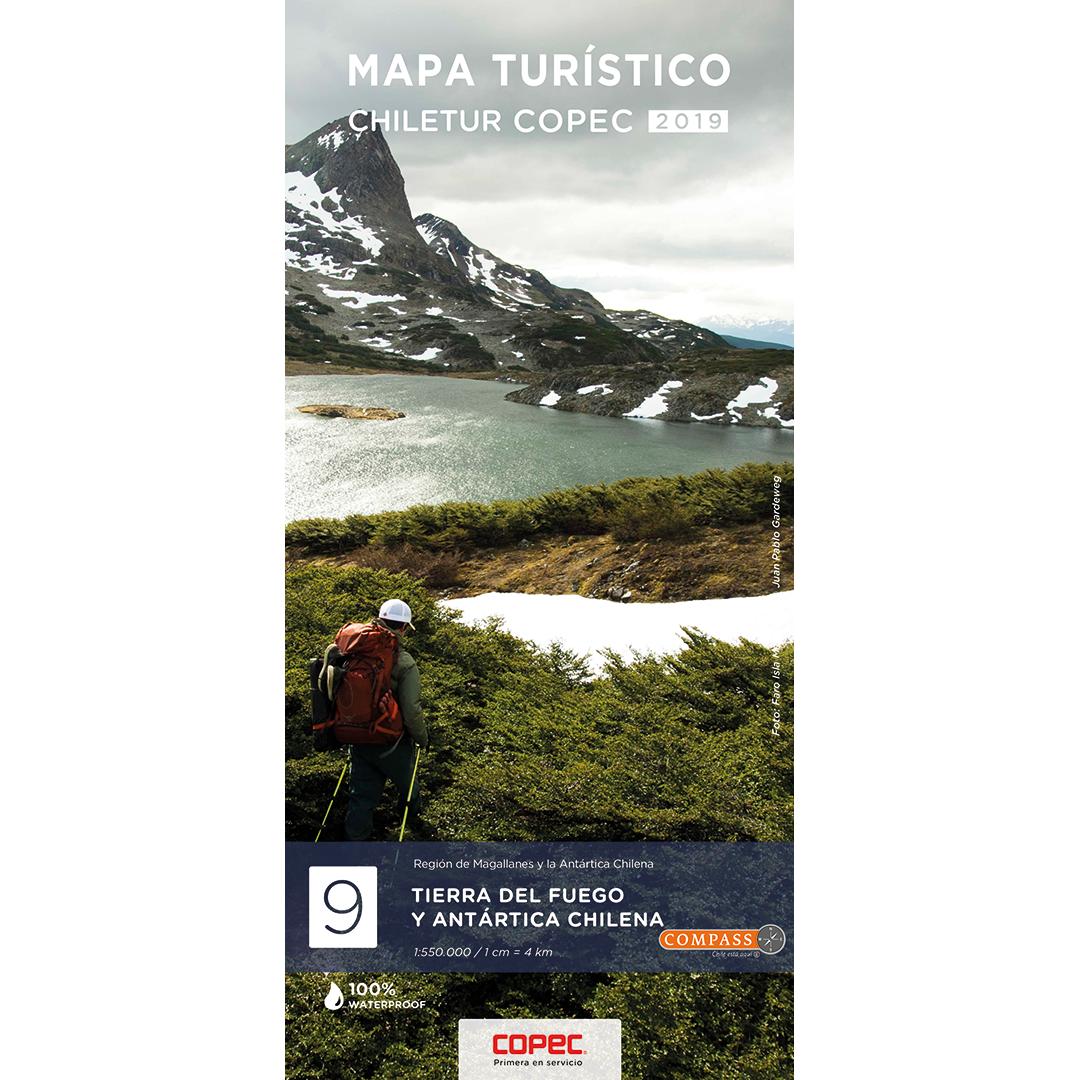MAPA 2019 CHILETUR COPEC 9 TIERRA DEL FUEGO Y ANTARTICA CHILENA