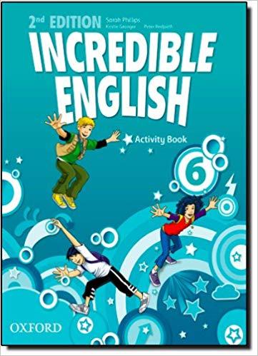 INCREDIBLE ENGLISH NE L6 ACTIVITY BOOK