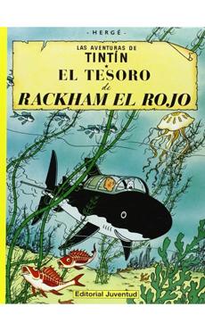 TINTIN EL TESORO DE RACKHAM EL ROJO