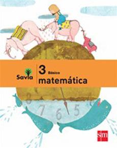 MATEMATICAS 3 BASICO PROYECTO SAVIA