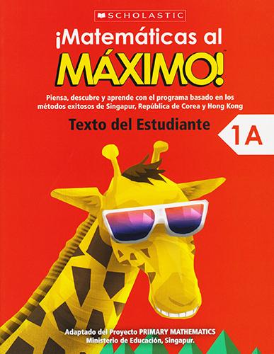 MATEMATICAS AL MAXIMO 1A TEXTO ESTUDIANTE