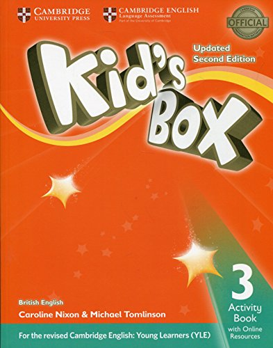 KIDS BOX 3 AB 2E UPDATED W/ONLINE RESOURCES
