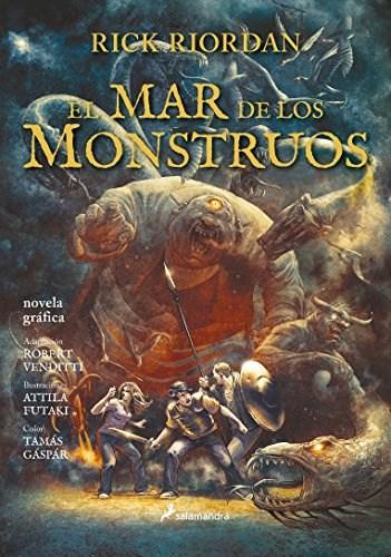 PERCY JACKSON 2 EL MAR DE LOS MONSTRUOS COMIC
