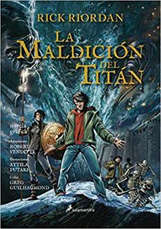 PERCY JACKSON 3 LA MALDICION DEL TITAN NOVELA GRAFICA