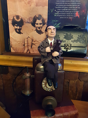FIGURA DECORATIVA MR BEAN