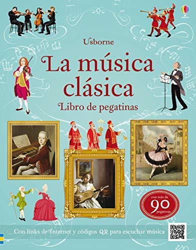 LA MUSICA CLASICA LIBRO DE PEGATINAS