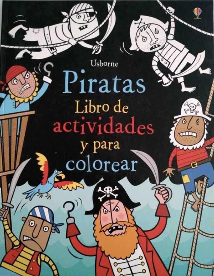 PIRATAS LIBRO DE ACTIVIDADES Y PARA COLOREAR