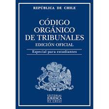 CODIGO ORGANICO DE TRIBUNALES ESTUDIANTES