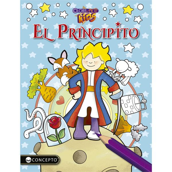 COLOREARTE KIDS EL PRINCIPITO