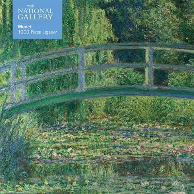 PUZZLE CLAUDE MONET THE WATER