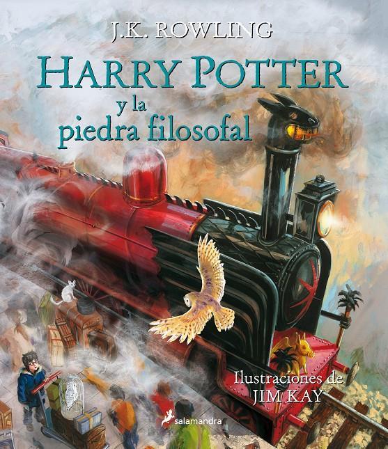 HARRY POTTER 1 Y LA PIEDRA FILOSOFAL ILUSTRADO TAPA BLANDA