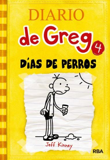 DIARIO DE GREG 4 DIAS DE PERROS RUSTICA
