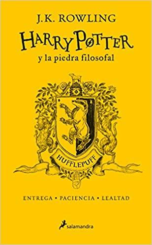 HARRY POTTER 1 Y LA PIEDRA FILOSOFAL HUFFLEPUFF 20 AÑOS