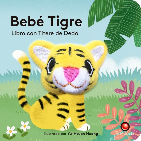 BEBE TIGRE LIBRO CON TITERE DE DEDO